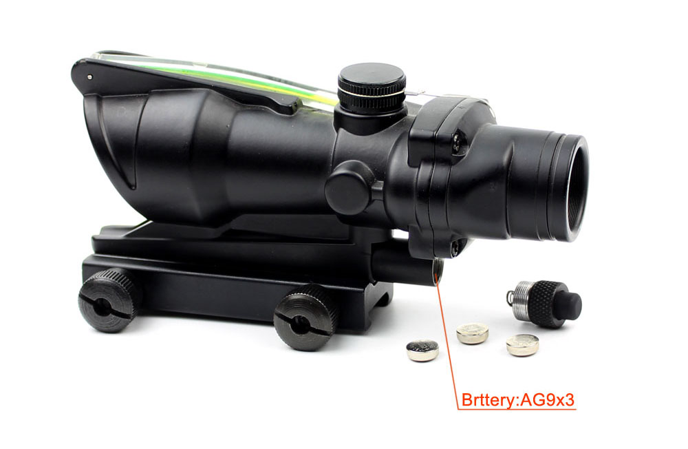 Long Xiang Optics-1x32 Scopes Sight Optics Real Fiber R or G Dot Scope w2011mm rail-2