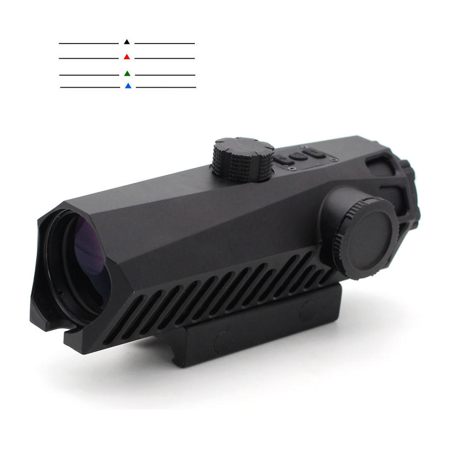 Unique Exterior Design 4x32 Fixed Power Tactical Scopes Red Green Blue Reticle Ar Sights 151-4x32