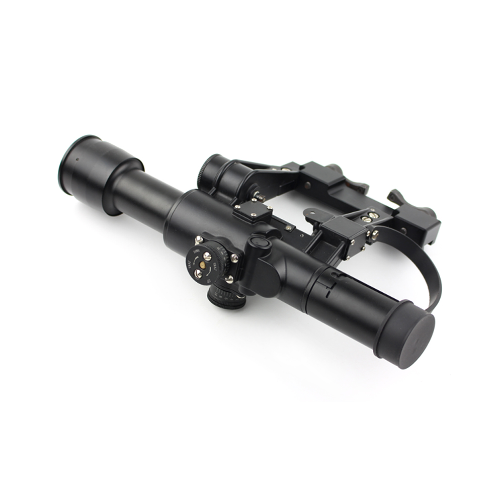 Long Xiang Optics-Rangefinding Tactical Magnifier Rifle Scope 4 x 26 For Ak Exclusive-1