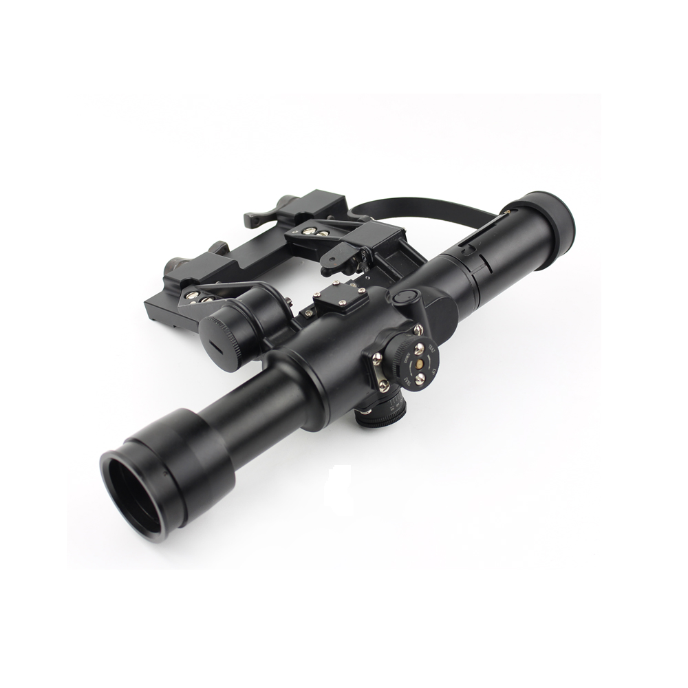Long Xiang Optics-Rangefinding Tactical Magnifier Rifle Scope 4 x 26 For Ak Exclusive-2