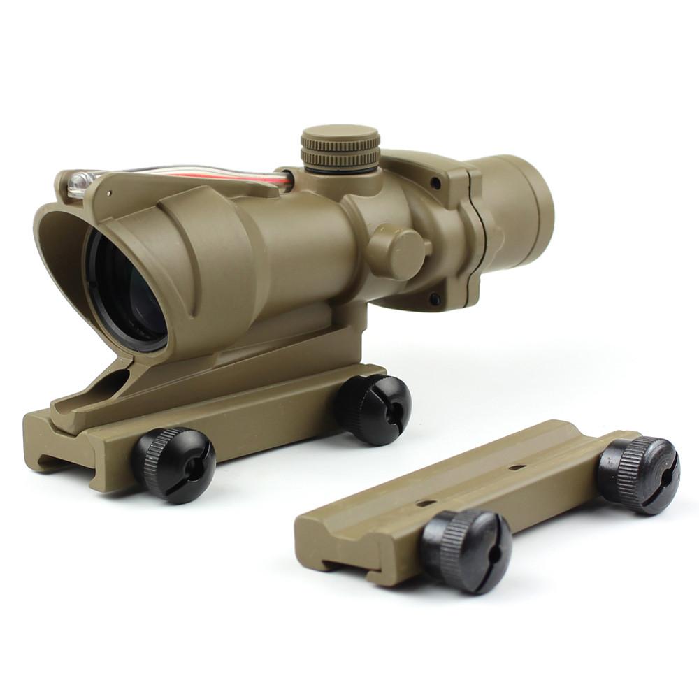 Long Xiang Optics-New Fiber Optic Illuminated Rifle Scope 4x Magnification 4x32c | Tactical-4