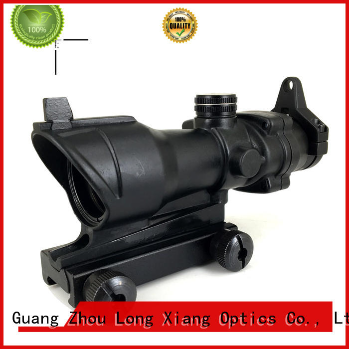 fiber filed mil Long Xiang Optics Brand vortex tactical scopes factory