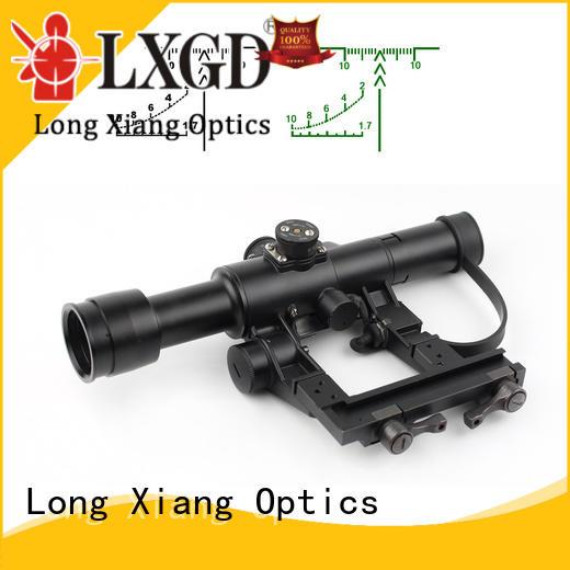 illuminated acog tactical scopes optics red Long Xiang Optics company
