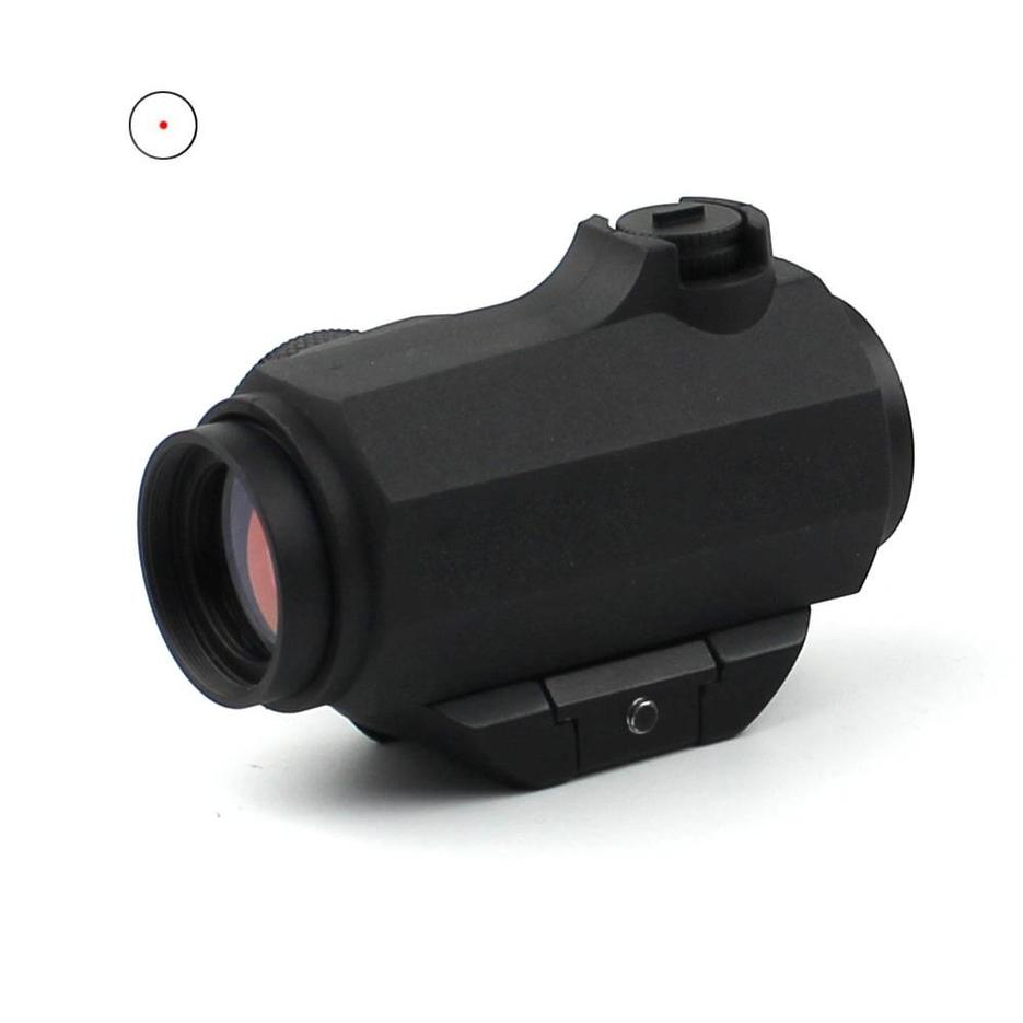 Newest Self Defence Gun Sight Micro Telescopic Sight Tough 2 MOA Red Dot Sight For Real Guns HD-41