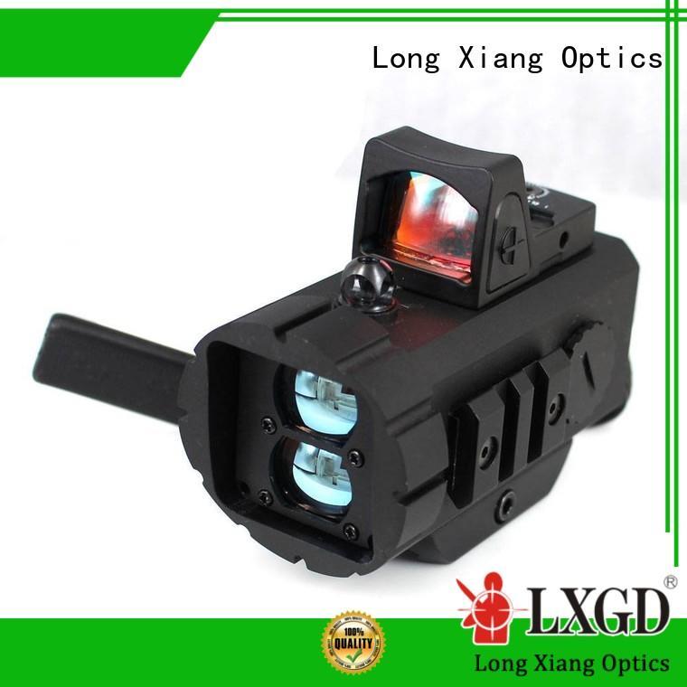 Long Xiang Optics wide view fde red dot sight new design for ar15