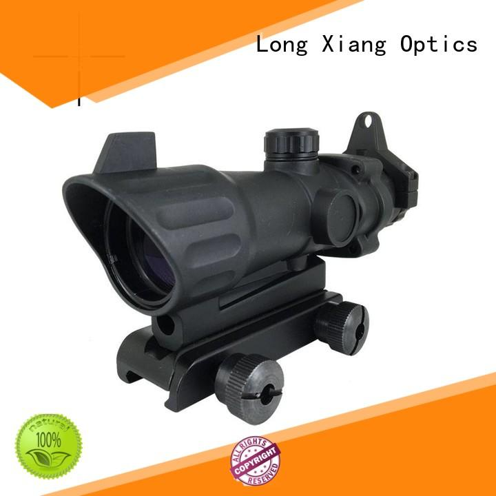 fiber illuminated red power tactical scopes Long Xiang Optics