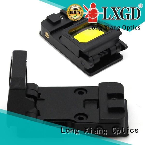Long Xiang Optics mini foldable reflex sight manufacturer for rifles