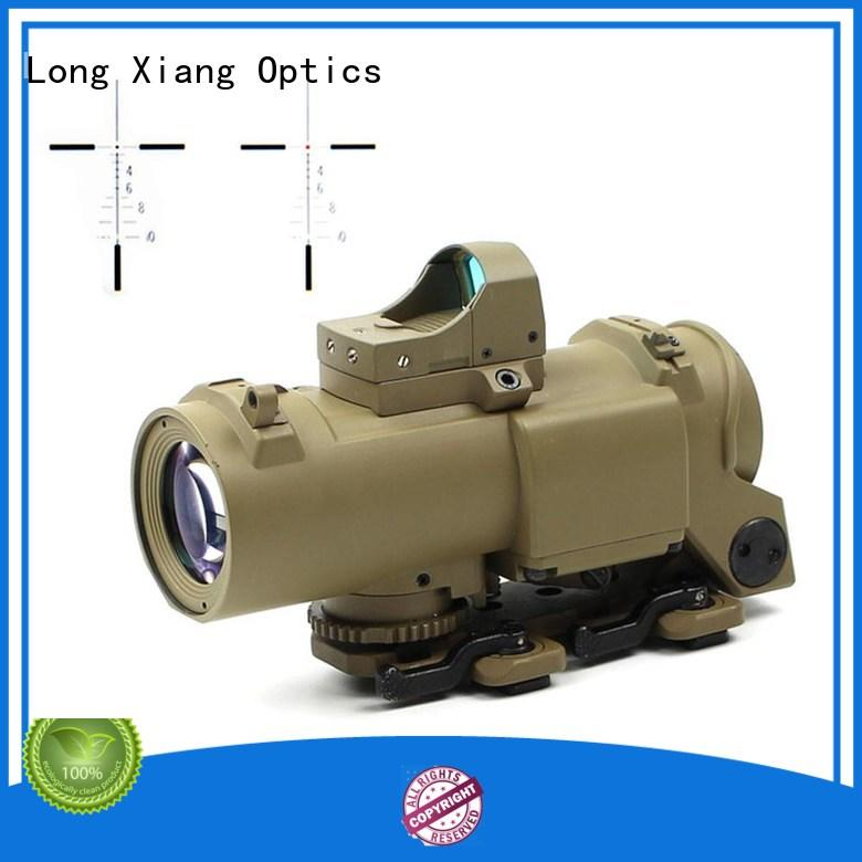 Long Xiang Optics tactical 3x prism scope customized for army training
