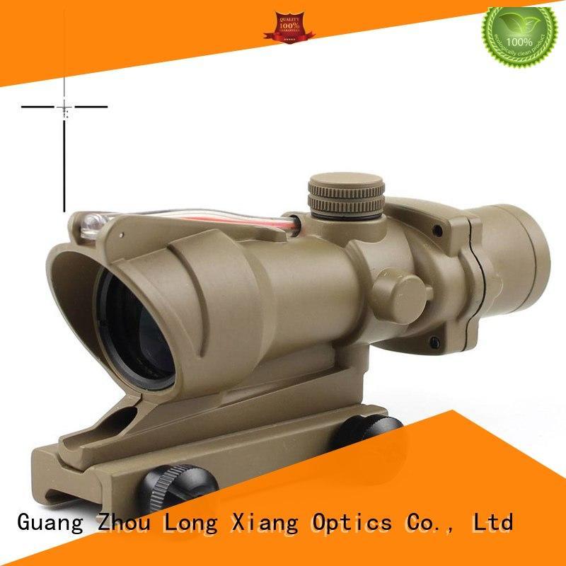 Long Xiang Optics Brand circle red tactical scopes sight factory