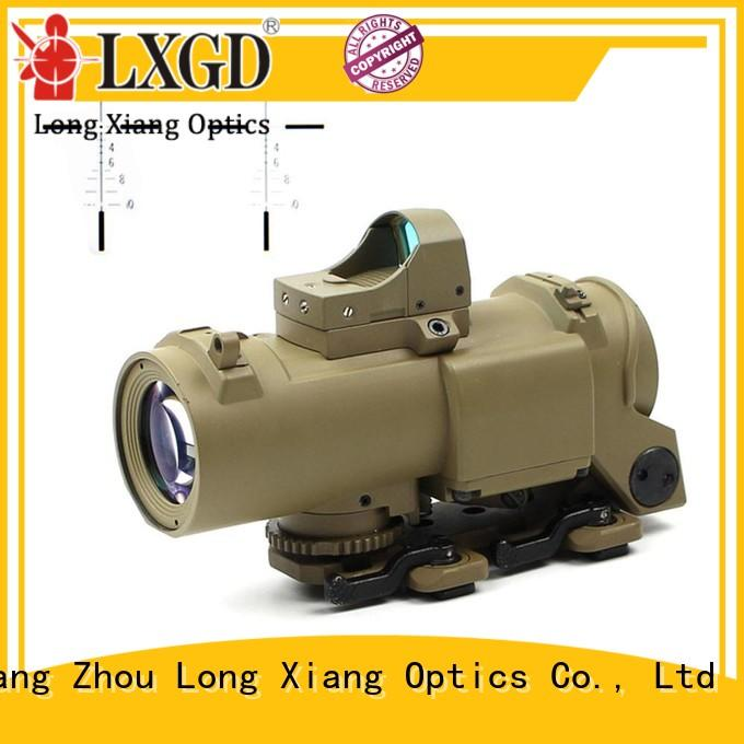 red tactical scopes telescopic sight Long Xiang Optics company